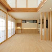 新築事例21-S邸~構造の柱を活かし木のぬくもりを感じる家~ 武蔵野市のサムネイル