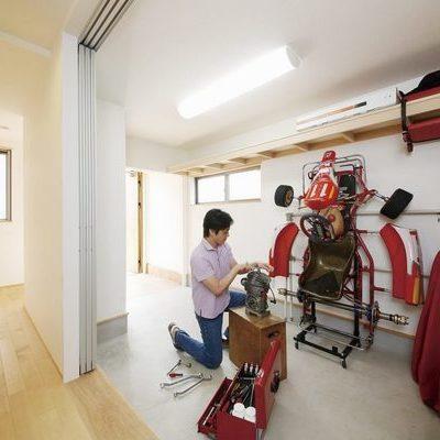 新築事例19-A邸~広い土間で趣味を楽しむ家~