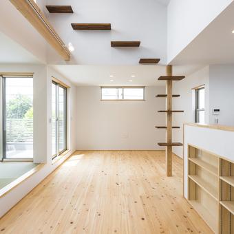新築事例23-D邸~キャットタワーのある家~ 東久留米市