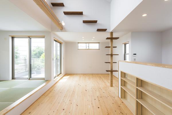 新築事例23-D邸~キャットタワーのある家~のサムネイル