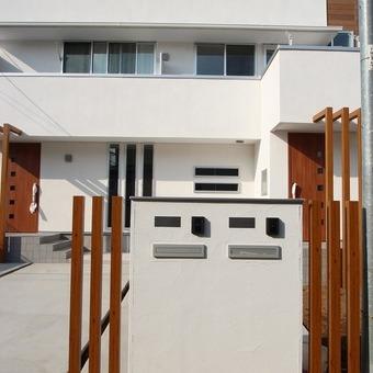 二世帯事例5‐K・T邸~完全分離型のお茶室のある家~ 三鷹市
