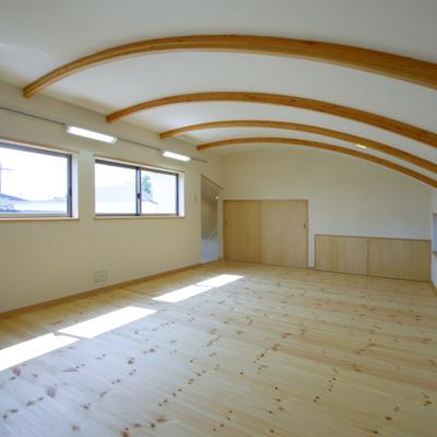 二世帯事例6‐H様邸~曲面天井のある二世帯の家~